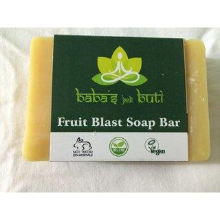 FRUIT BLAST SOAP BAR,handmade full organic soap