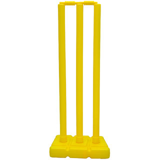 GSI Easy to carry cricket stump set for indoor outdoor and beach use