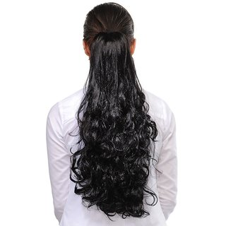 Homeoculture Hair Extension, 18 Inches (Black)