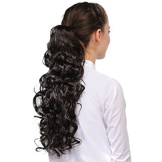 Homeoculture Hair Extension, 18 Inches (Brown)