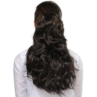 Homeoculture Hair Extension, 20 Inches (Brown)