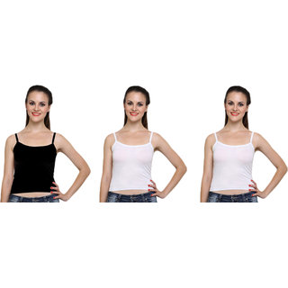 Dealseven Black & White Plain T-Shirt Bra