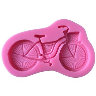 Futaba Fashion Bicycle Shape 3D Silicone Fondant Mold
