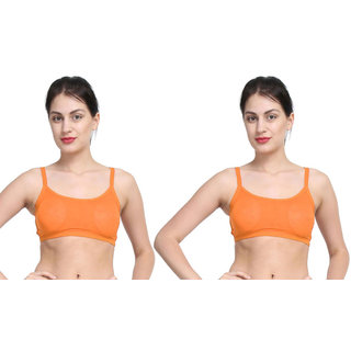 Dealseven Orange Sports Bra