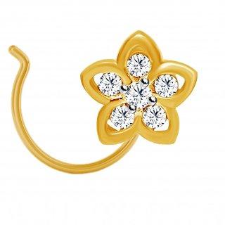Jacknjewel Flora Diamond Nose Pin