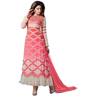 The Ethnic Chic Multicolor Patch Work Georgette Suit