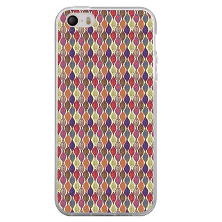 ifasho Animated Pattern colrful design leaves Back Case Cover for Apple Iphone 4