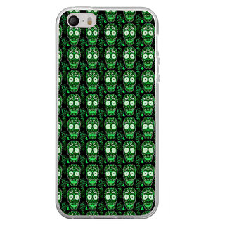 ifasho Modern  Design animated skeleton Pattern Back Case Cover for Apple Iphone 4