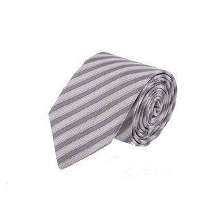 Van Heusen Trendy White & Grey Tie