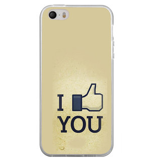 ifasho I am In love Back Case Cover for Apple Iphone 4
