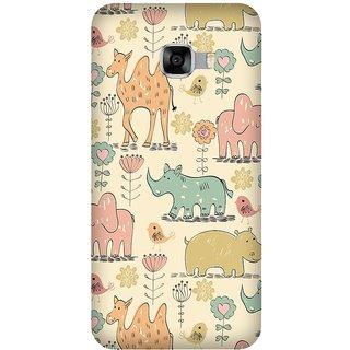 Super Cases Premium Designer Printed Case for Samsung Galaxy C5