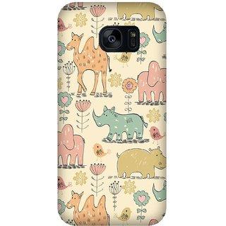 Super Cases Premium Designer Printed Case for Samsung Galaxy S7 Edge