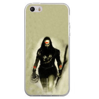 ifasho Siva in smasan Back Case Cover for Apple Iphone 4