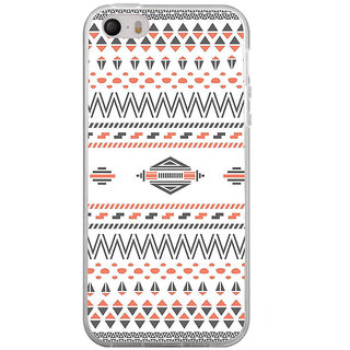 ifasho Animated Pattern colrful tribal design Back Case Cover for Apple Iphone 4