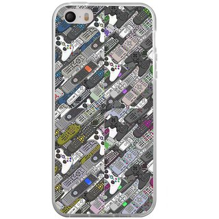 ifasho Animated Pattern  littel and Big colourful remotes Back Case Cover for Apple Iphone 4