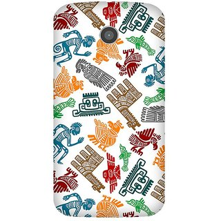Super Cases Premium Designer Printed Case for Moto E