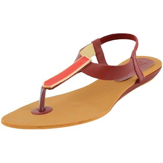 Footgear Women's Pink Sandals