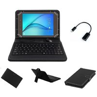 7inch Keyboard For IZOTRON CRO72-04 Mi7 Tablet - Black With OTG Cable By Krishty Enterprises