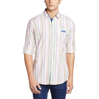 Garage Co Men's Casual Shirt White