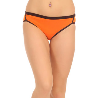 Clovia Orange Plain Pantie