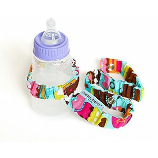 Continuum Games- Dropper Stopper In Sweet Treat Fabric. Stop Baby Items From Ever Hitting The Floor! (1 Tether)
