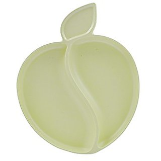 Pacific Baby Apple Plate Cream, Light Cream