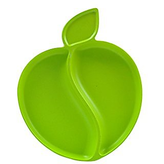 Pacific Baby Apple Plate, Green