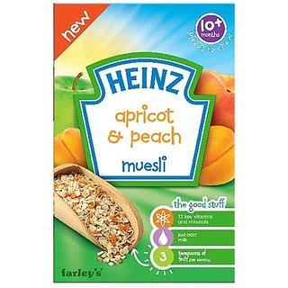 Heinz Apricot & Peach Muesli (10m+) - 200G (Pack of 6)