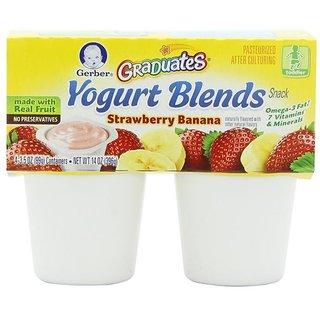 Gerber Graduates Yogurt Blends Snack 396G (14oz) - Strawberry Banana