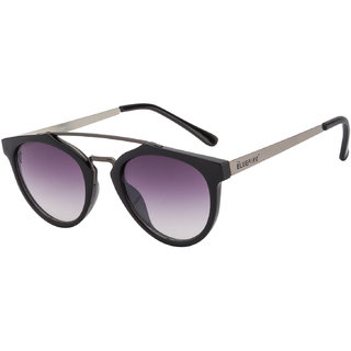 The Blue Pink Black UV Protection Unisex Oval Sunglass