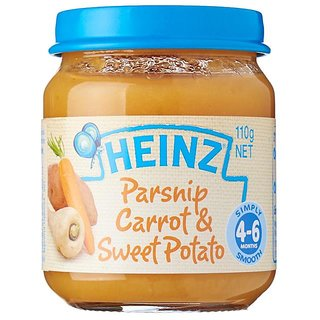 Heinz Parsnip Carrot & Sweet Potato (4-6M) - 110G