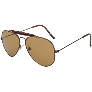 d8c0e4ff40d Buy The Blue Pink Brown UV Protection Unisex Aviator Sunglass Online - Get  76% Off