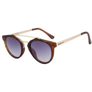 2d8a4134c6 Buy The Blue Pink Black UV Protection Unisex Oval Sunglass Online - Get 81%  Off