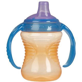 Munchkin Mighty Grip Trainer Cup, 8 Ounce, Orange
