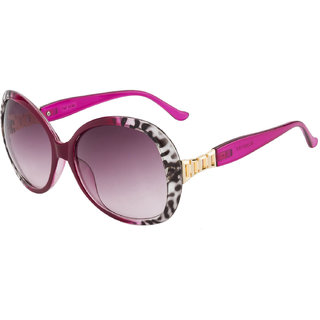 The Blue Pink Purple UV Protection Women Oval Sunglass