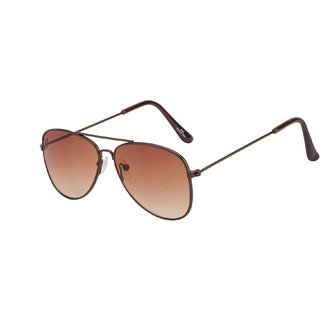 The Blue Pink Brown UV Protection Unisex Aviator Sunglass