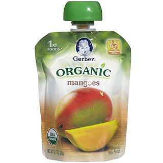 Gerber 1st Foods 90G (3.17oz) - Organic Mangoes