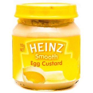 Heinz Smooth Egg Custard (6m+) - 110G (Pack of 3)
