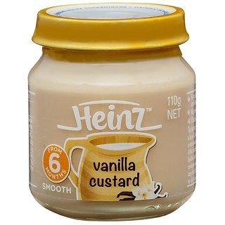 Heinz Vanilla Custard (6m+) - 110G