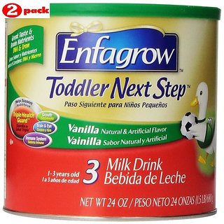 Enfagrow Toddler Next Step 3 Vanilla (1-3Yrs) - 680G (Pack of 2)