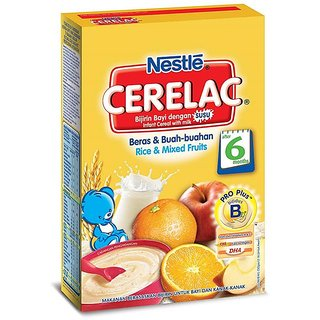 Nestle Cerelac (6m+) - 250G Rice & Mixed Fruits (Imported)
