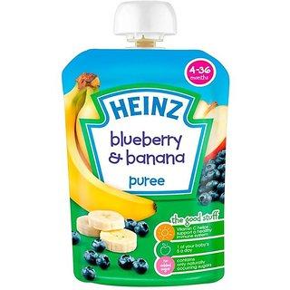 Heinz Blueberry & Banana Puree (4-36m) - 100G