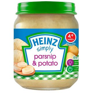Heinz Simply Parsnip & Potato (4m+) - 120G