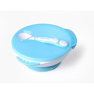 Kidsme Tight Grip Suction Bowl - Blue - Unisex