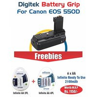 Digitek Battery Grip CANON EOS 550D