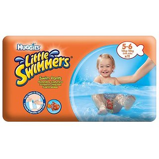 Huggies Little Swimmers Swim Pants 11Pc (5-6) (12-18Kg)
