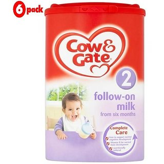 Cow & Gate 2 Follow-On Milk (6m+) - 900G (Pack of 6)