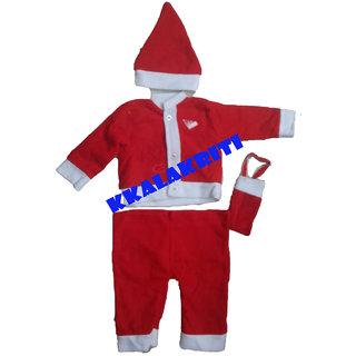 SANTA CLAUS X'MAS FANCY DRESS COSTUME FOR KIDS