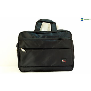 Safex Stylish Black Color 14 inches Laptop Messenger Bag