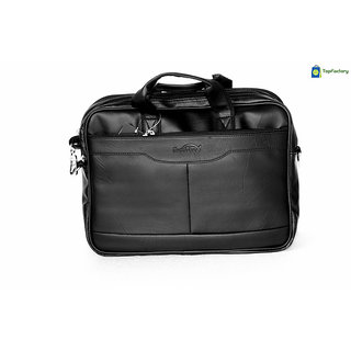 Safex Stylish Black 14 inches Laptop Messenger Bag